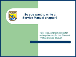 Clilck here for How to Write Manual Chapter